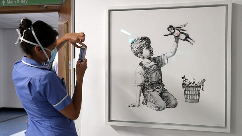 Game Changer di Banksy
