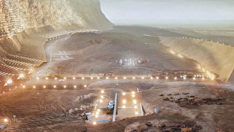 Città di Nüwa su Marte