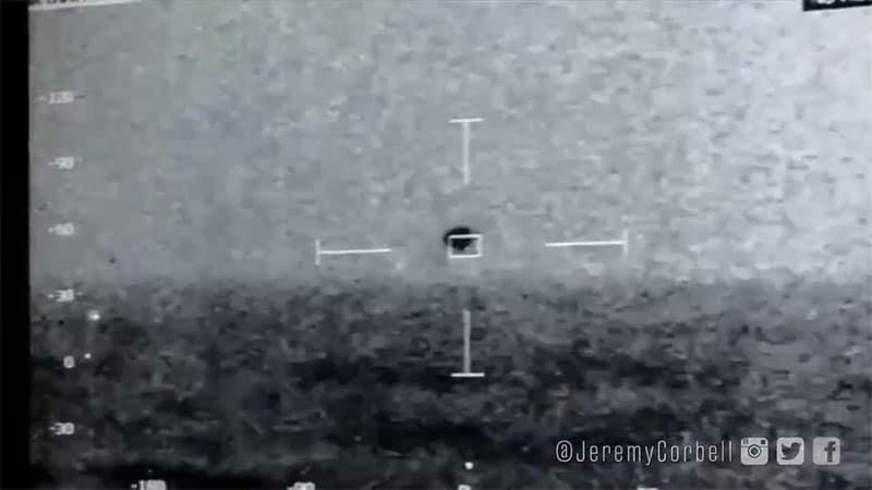 Foto dell'UFO in acqua