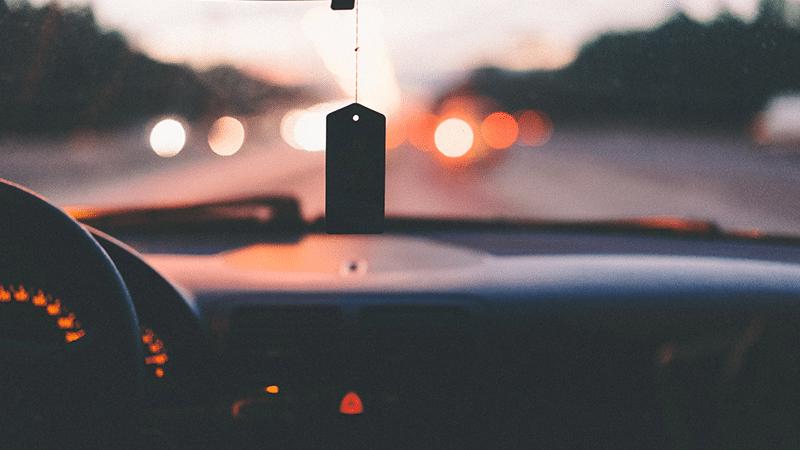 Foto di un'automobile