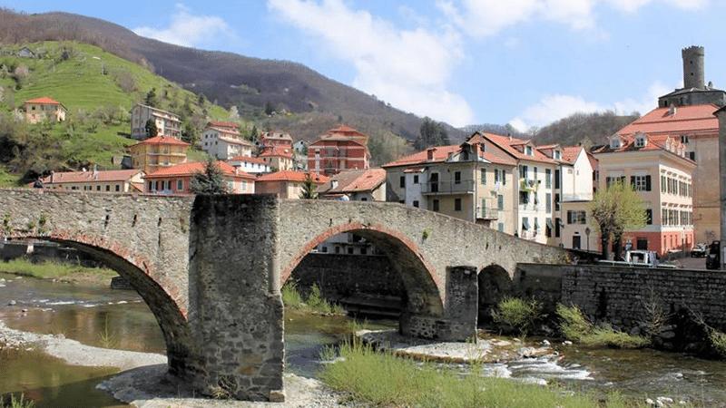 Foto del borgo di Campo Ligure