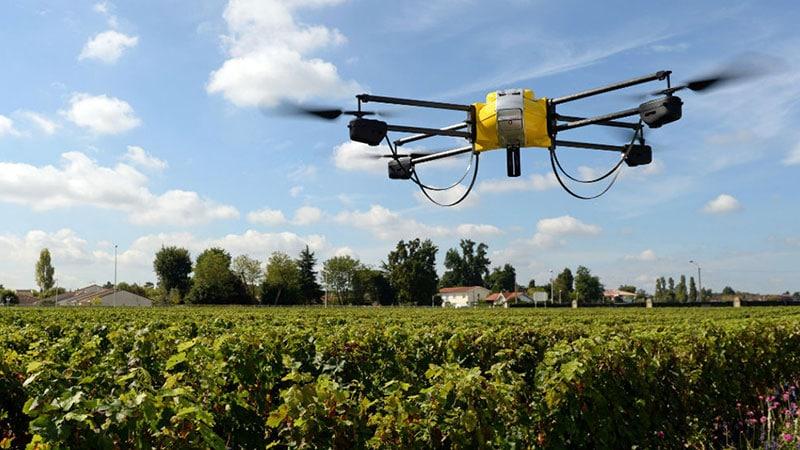 Drone per l'agricoltura