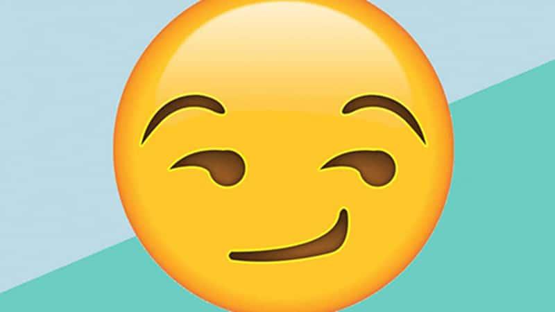 Emoji ammiccamento