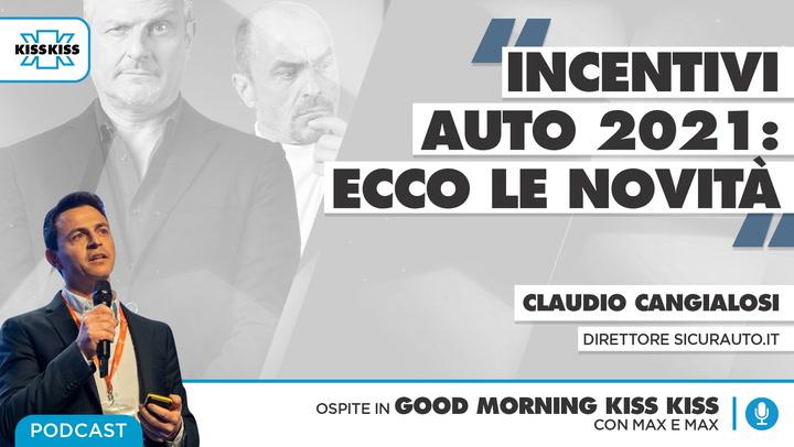 Incentivi auto 2021: le novita' in Good Morning Kiss Kiss (AUDIO)