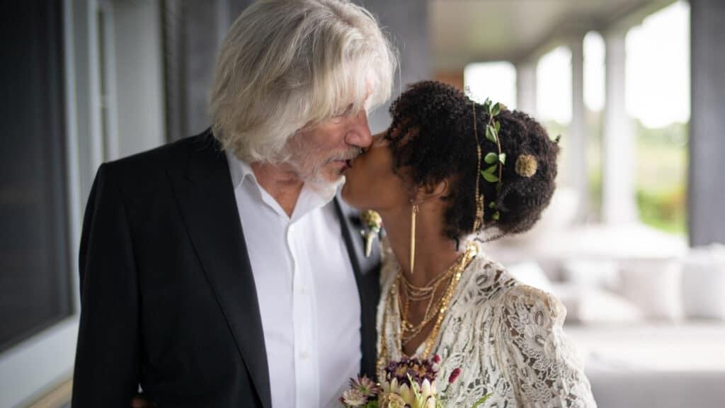 foto Roger Waters sposo