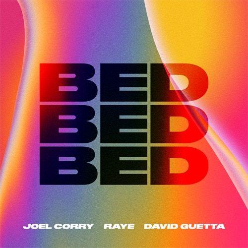 Joel Corry x RAYE x David Guetta - Bed - cover
